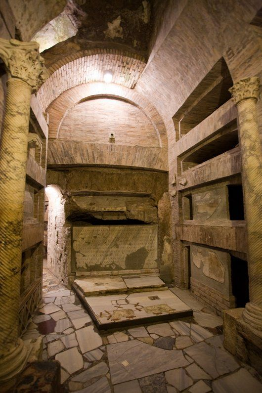 Catacombs of San Callisto | Places I'd Like to Go ...