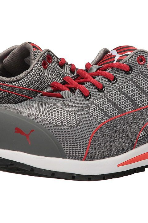 PUMA Safety Xelerate (Grey) Men's Work Boots - PUMA Safety, Xelerate, 642075