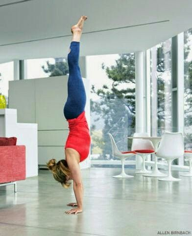 defy gravity  yoga handstand handstand yoga inversions