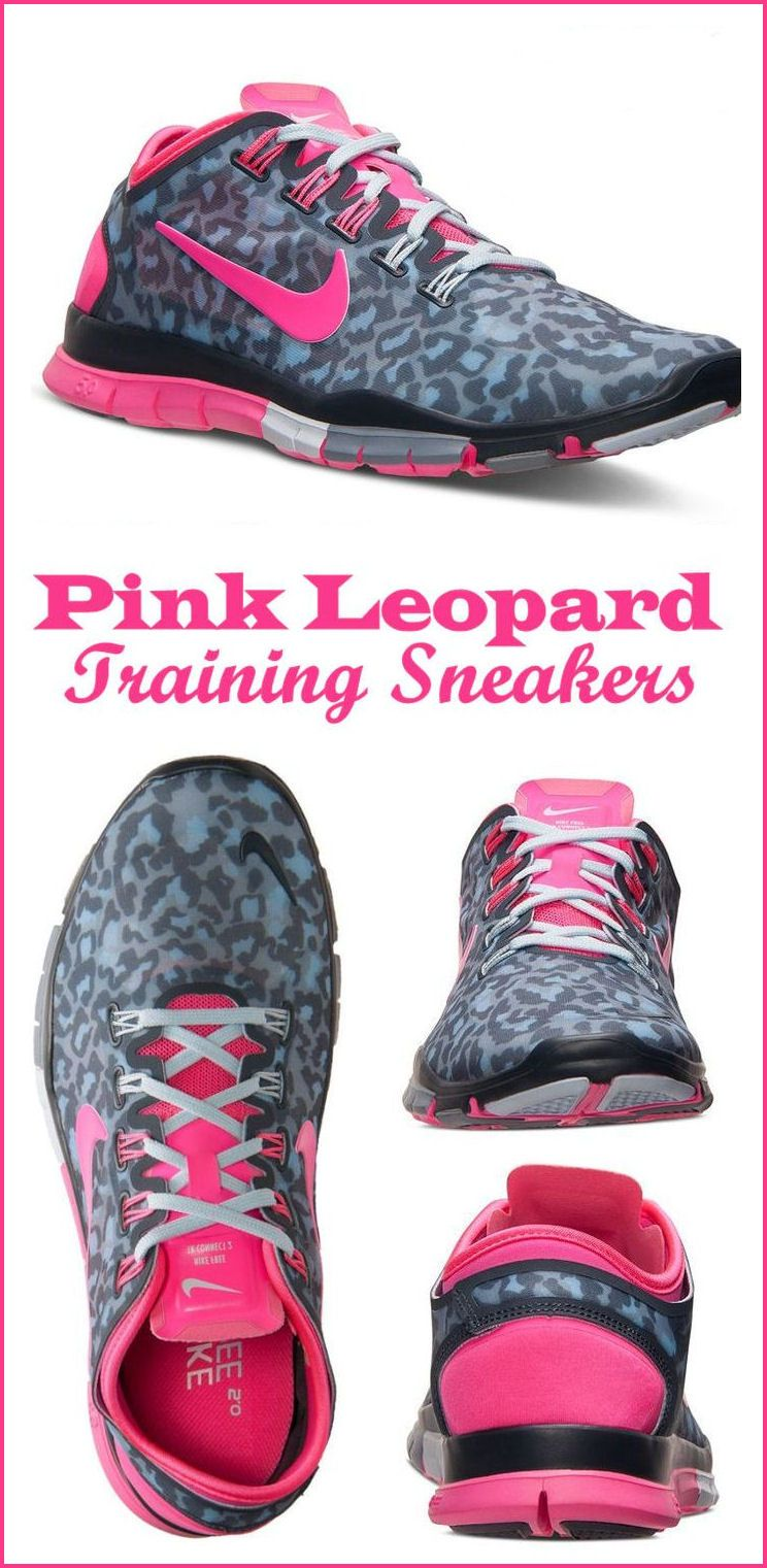 official photos 10f79 df2f4 Nike Pink Leopard Free Sneakers  newyearsresolution  healthy