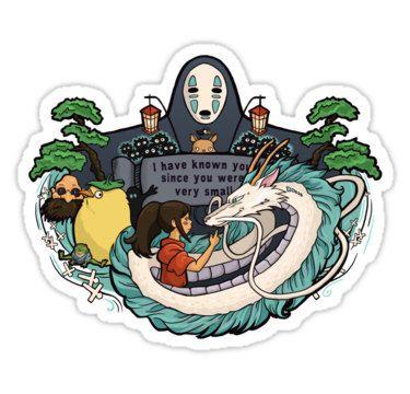 Individual die cut spirit world sticker by khallion on etsy 4 00
