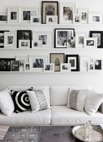 Decorar paredes con cuadros dise o de interiores for Diseno de paredes con cuadros