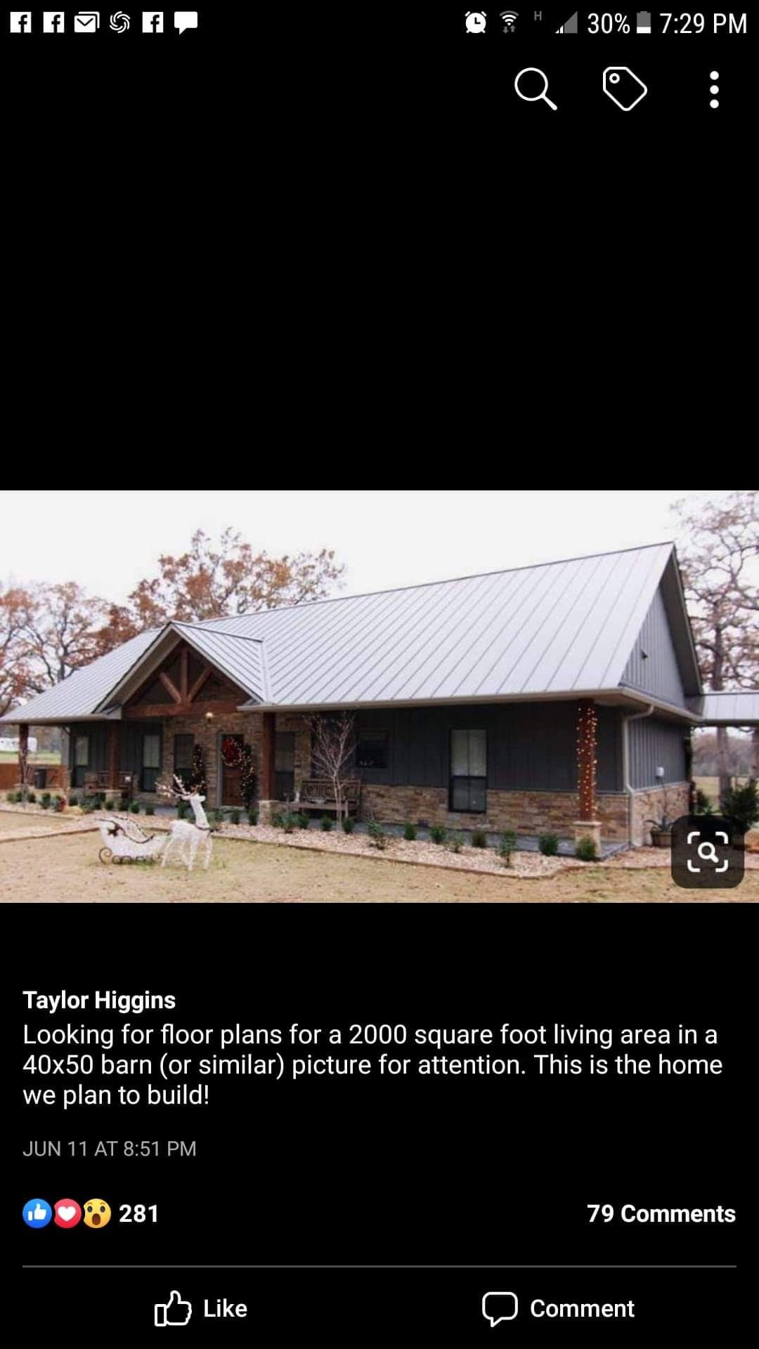 New Cabin Happening By Kimberly Hawk In 2020 Barn Homes Floor Plans House Exterior Metal Building Homes
