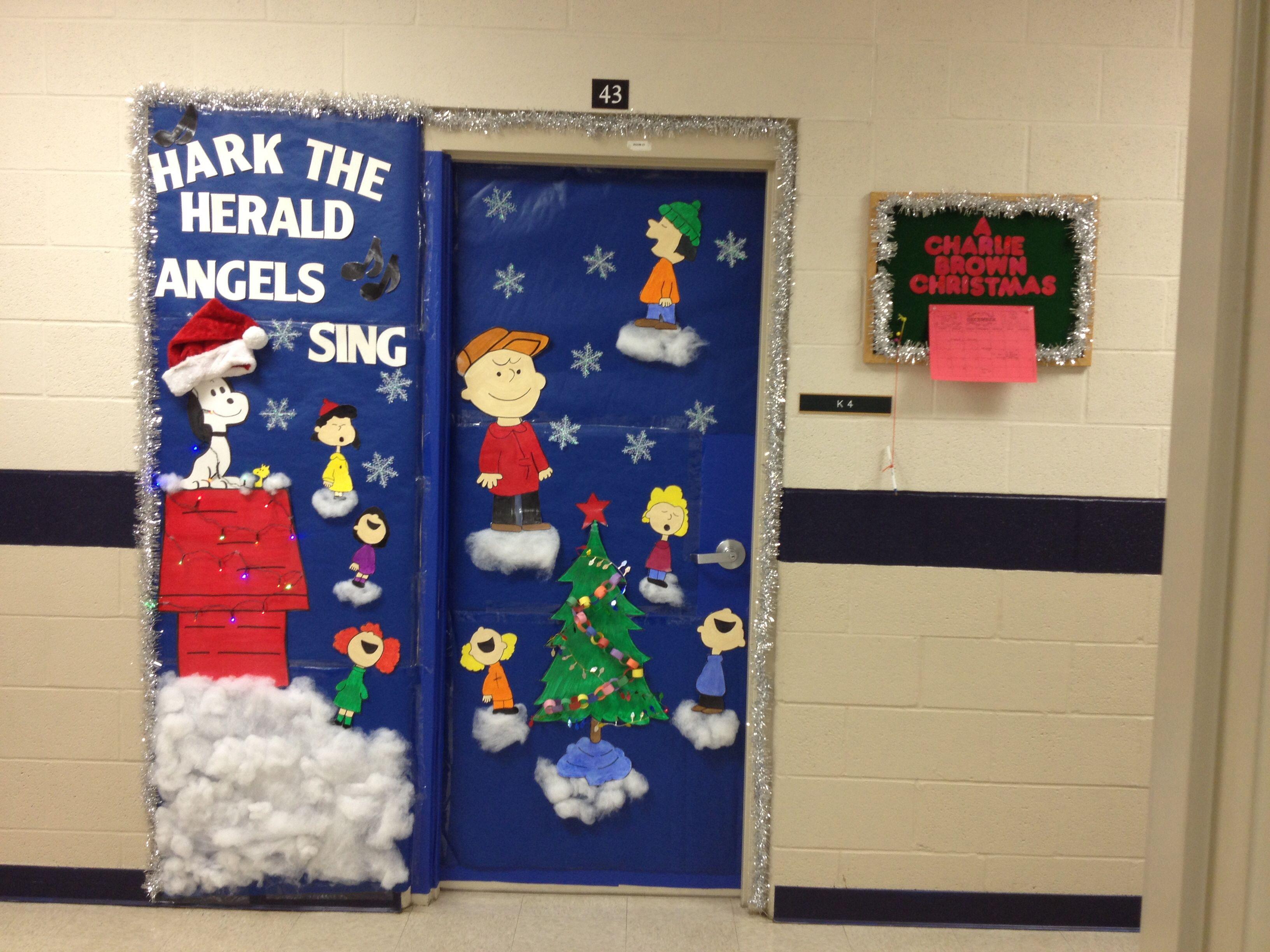 Charlie Brown Christmas Hark The Herald Angels Sing