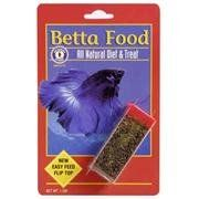 $1.09-$1.39 Bettas love this protein rich, all natural food. Freeze drying locks in nutrients and preserves the natural shape, making it more appetizing for finicky eaters.Never clouds the water..