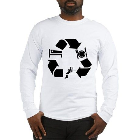 184b690ab Waterpolo designs Long Sleeve T-Shirt