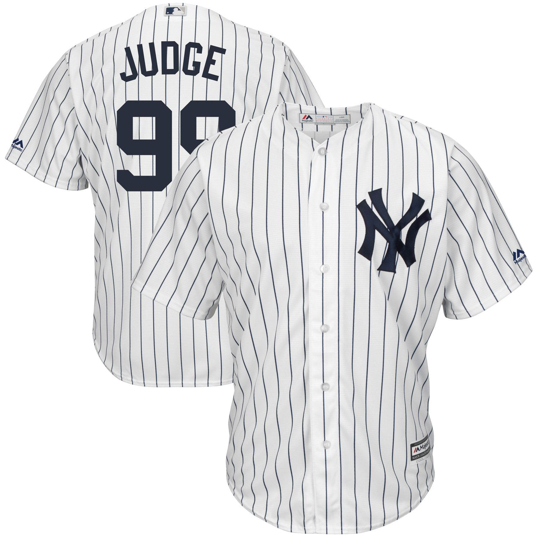 Aaron Judge New York Yankees Majestic Big Tall Cool Base Player Jersey White In 2020 Gleyber Torres New York Yankees Sports