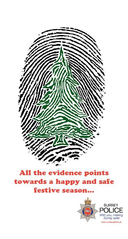 Season S Greetings From Surrey Police By Surrey Police Police Christmas Cards Embossed Business Cards Police Christmas