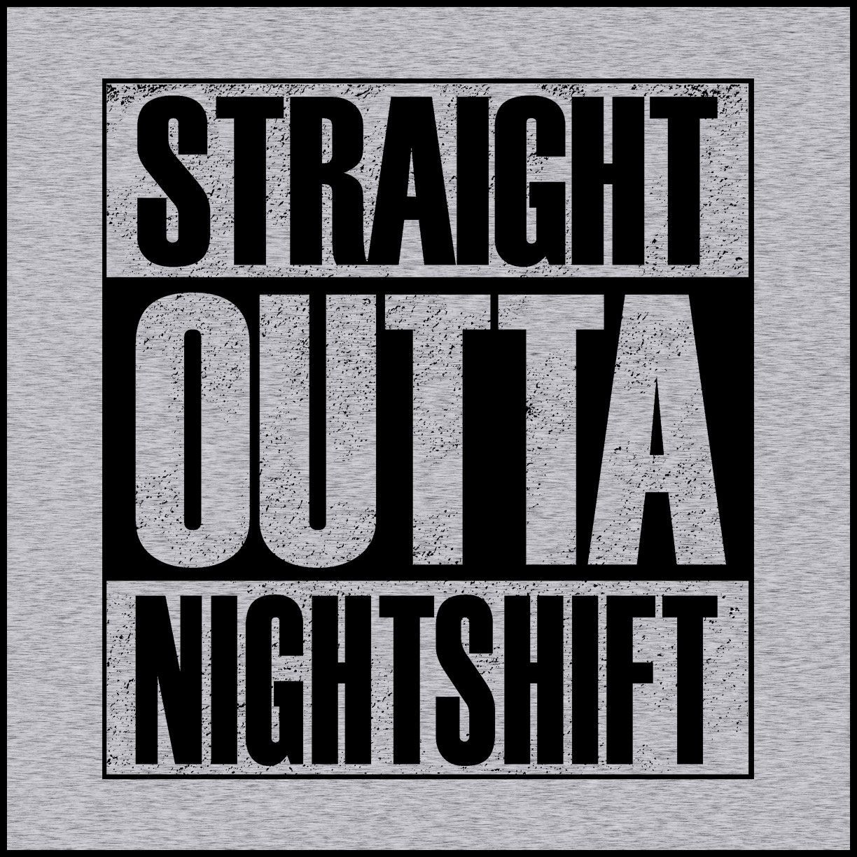 5fda3311 ADULT NURSE T-SHIRT • Straight Outta Night Shift! • Compton Parody ...