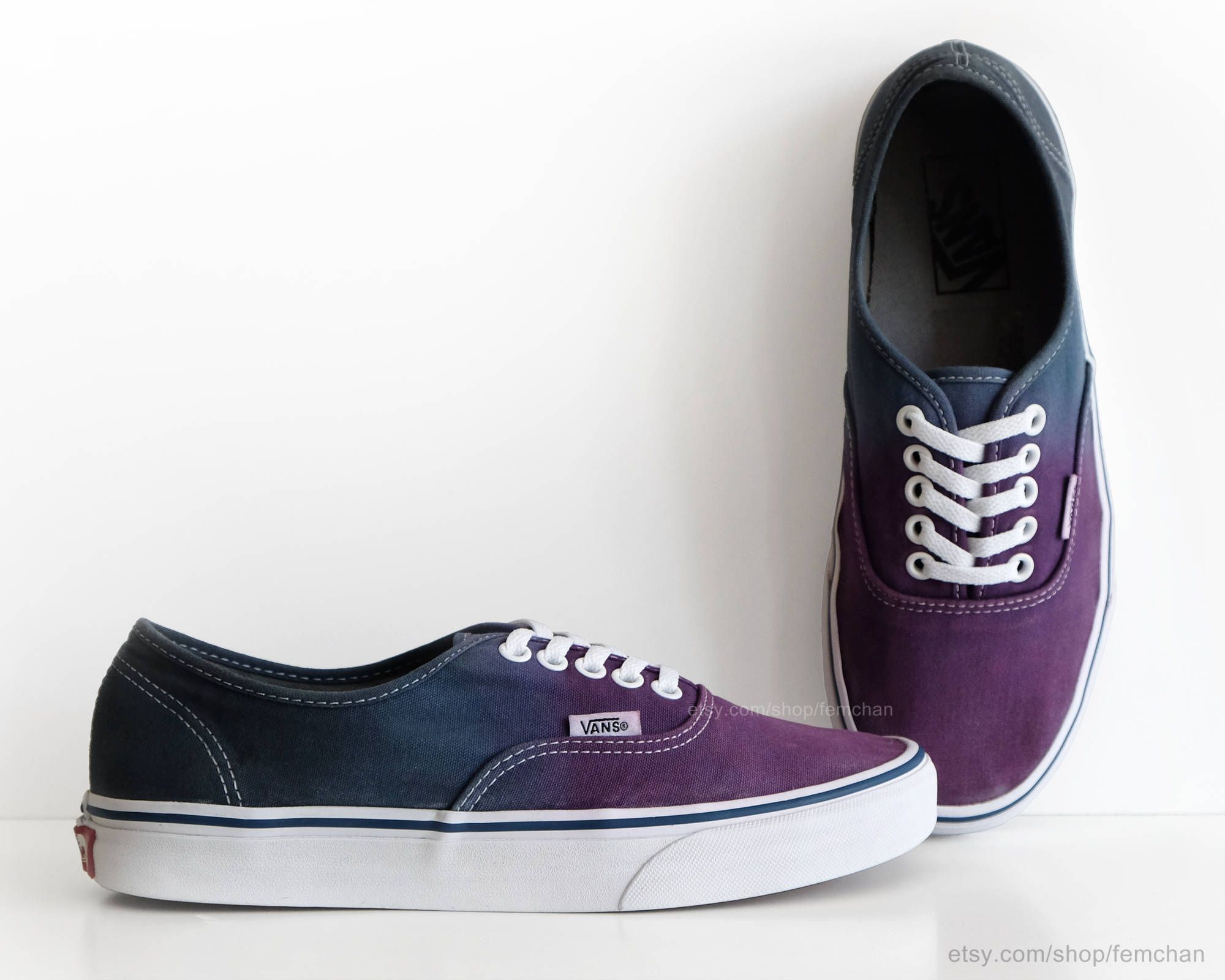 Dip dye Vans Authentic 83f6f58466