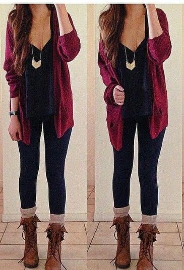 65f2ca0eb3b334 25+ Lovely but Comfy Outfits to Wear on Thanksgiving Day