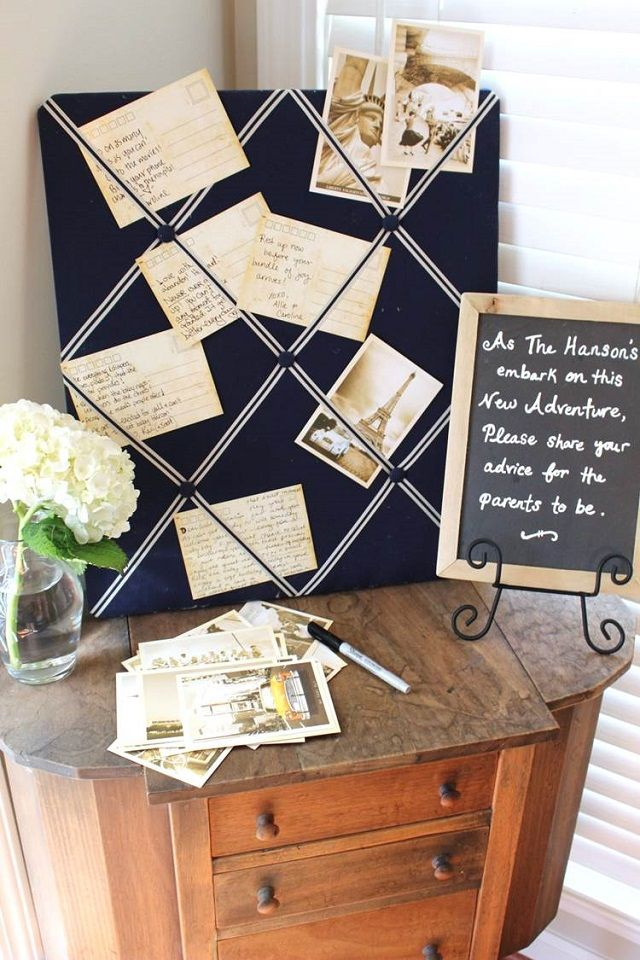 All The Details Youu0027ll Need To Plan Your Own Travel Themed Baby Shower Are