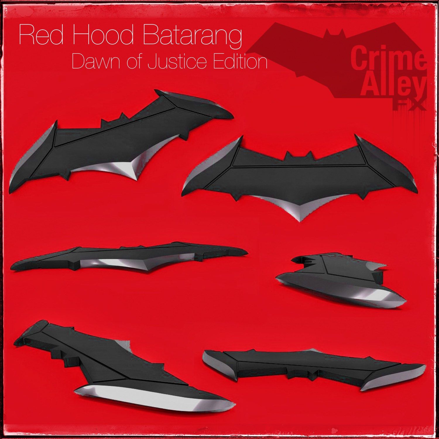 Batman Under The Red Hood Concept Art Batarang