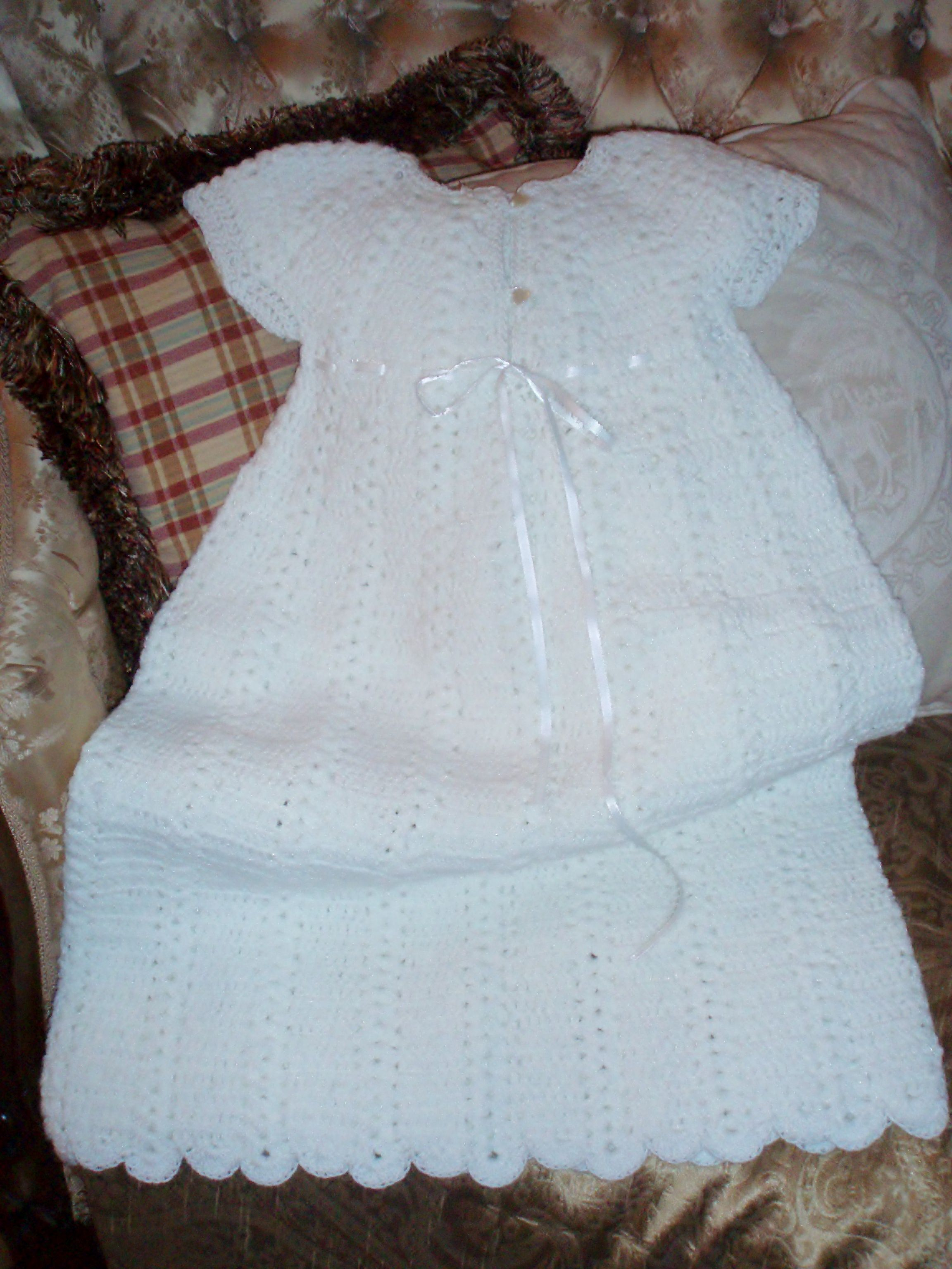 I Have Made Many Of These Gowns For Babys Baptisms It Is From An
