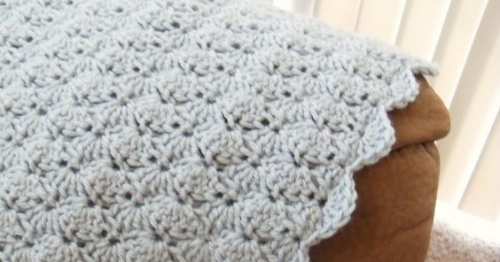 Sarah\'s Never-Ending Projects: Living Room Afghan Pattern. Nice ...