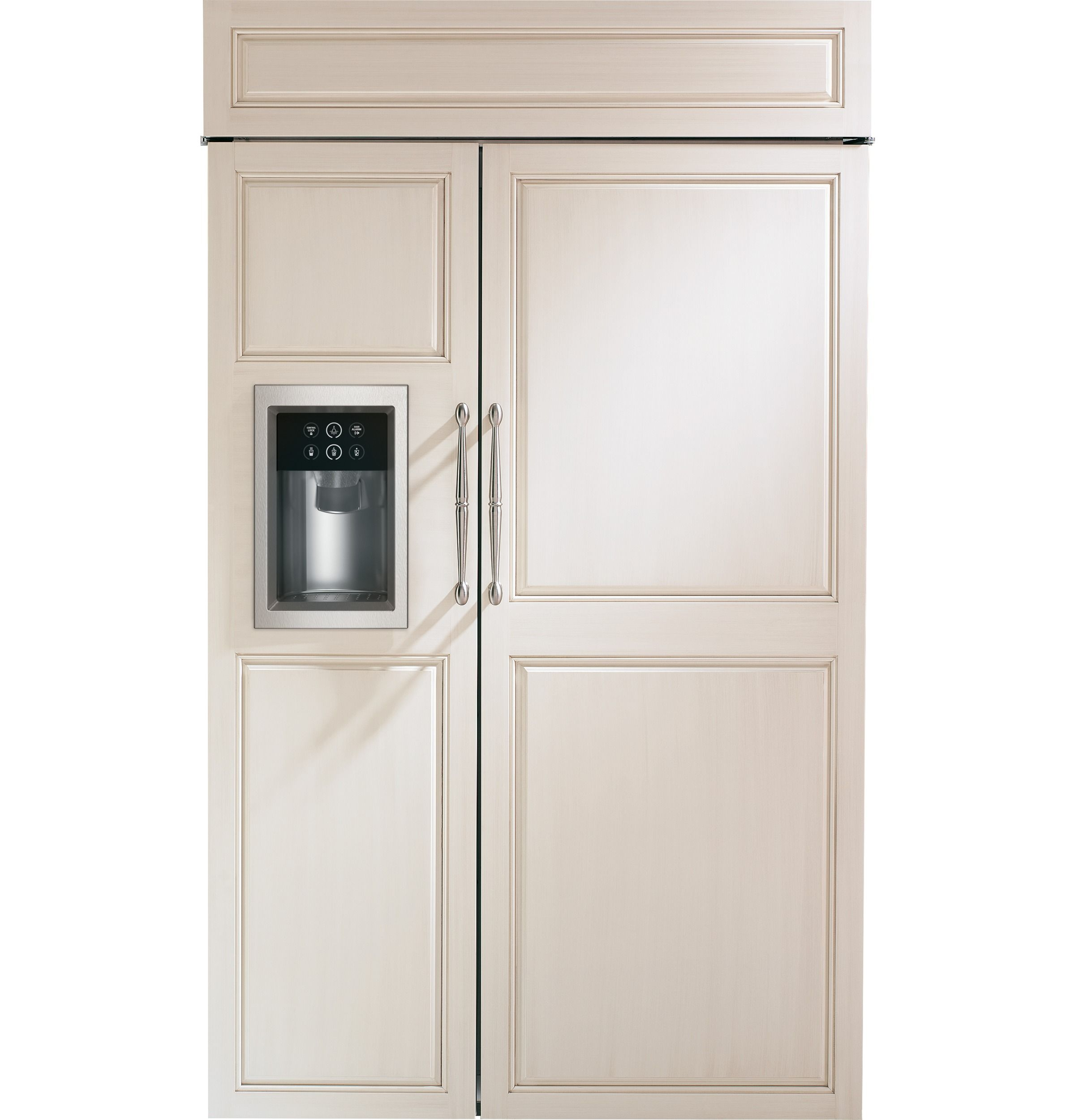 Zisb480dh Monogram 48 Built In Side By Refrigerator With