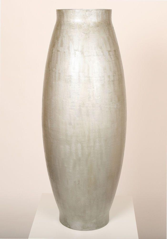 Polivaz Textured Silver Floor Vase Large Home Decor Pinterest