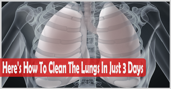 Many people have never tried a cigarette and still have problems with the lungs, while others smoke for 45 years, and even after that long period their lungs are still functioning well … it depends from person to person, and below we will tell you a few tips how you can purify the lungs within…