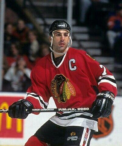 Chris Chelios Chicago Blackhawks Nhl Hockey