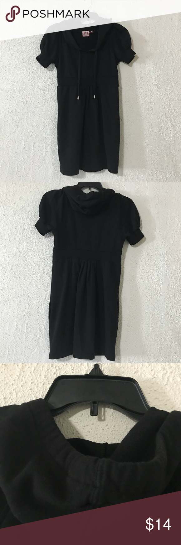 Juicy Couture Hooded Mini Dress