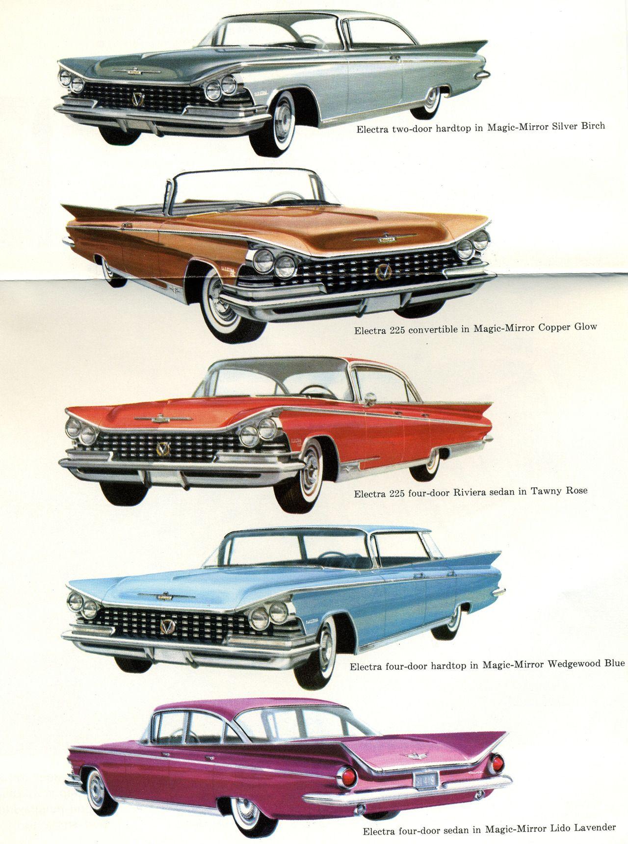 1959 Buick Brochure.Classic Car Art&Design Classic Car Art & Design #ClassicCarA…