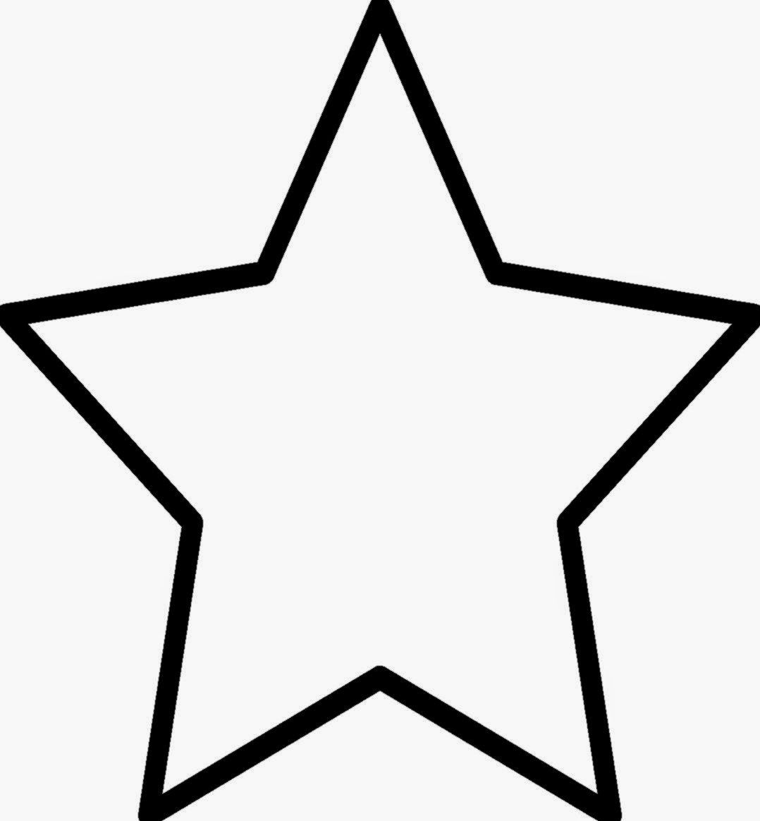 Image Result For Star To Color And Print