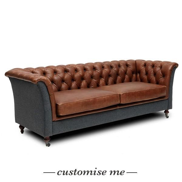 Barkby 2 Seater Leather Sofa Leather Sofa Italian Leather Sofa Furniture