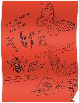 New Halsey Hopeless Fountain Kingdom World Tour Custom Silk Poster Wall Decor