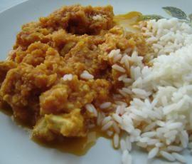 Recette Poulet au curry et à la pomme par nadette31 - recette de la catégorie Plat principal - divers