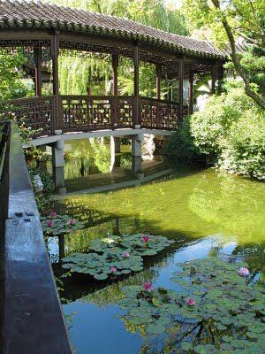 Little flying rainbow bridge @ Humble Administrator\u0027s garden - chinesischer garten brucke
