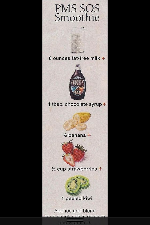 PMS smoothie