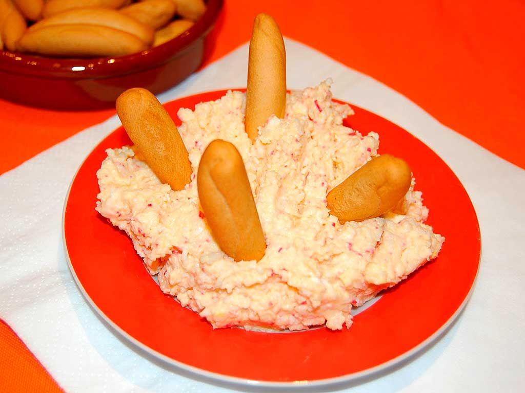La ensaladilla de cangrejo tampoco sería lo mismo sin sus picos. (Pinterest)
