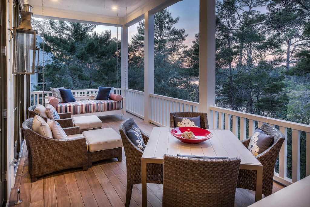 Marianne Grant And Blake Cooper Porch Furniture Deck