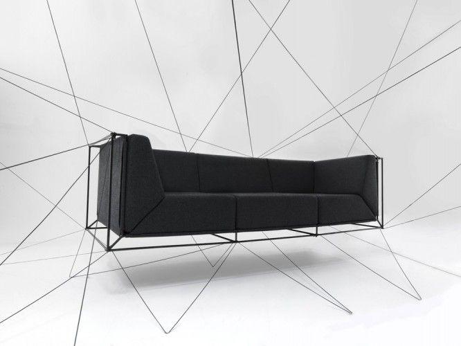 Floating Sofa by Philippe Nigro.