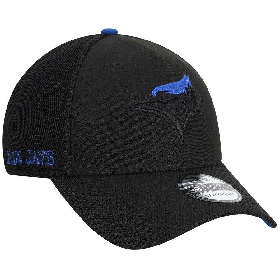 Men's Toronto Blue Jays New Era Black TwoTone Sided