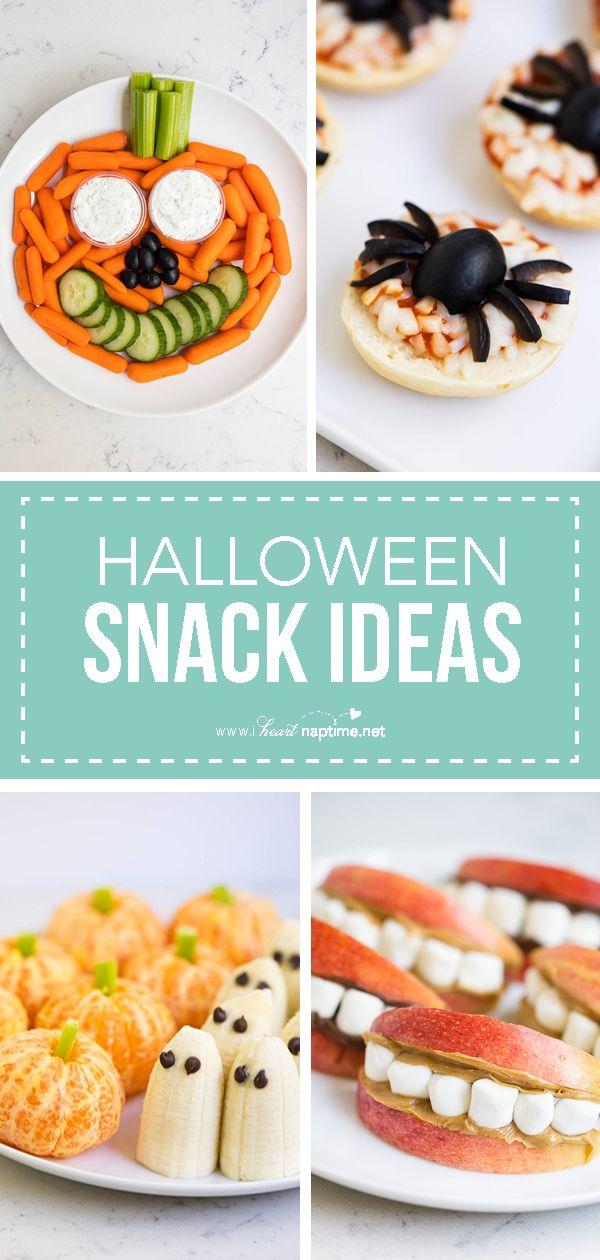 BEST Halloween Snack Ideas #halloweenbreakfastforkids
