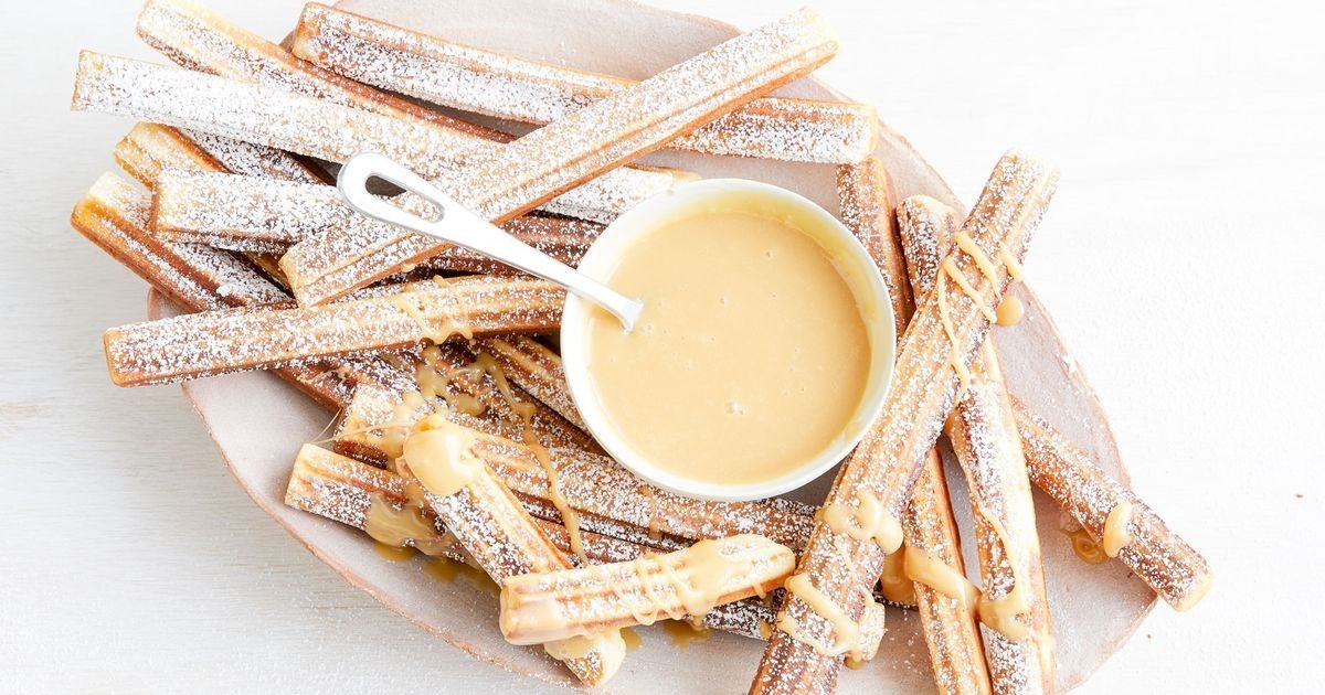 Caramilk And Condensed Milk Churros Recipe In 2020 Milk Recipes Condensed Milk Recipes Churros