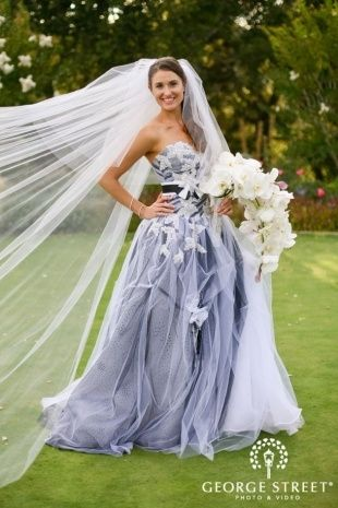 Not White Wedding Dresses