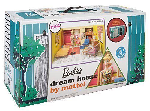 1962 Barbie Dream House Reproduction Replica Of Original Furniture  Accessories #Barbie