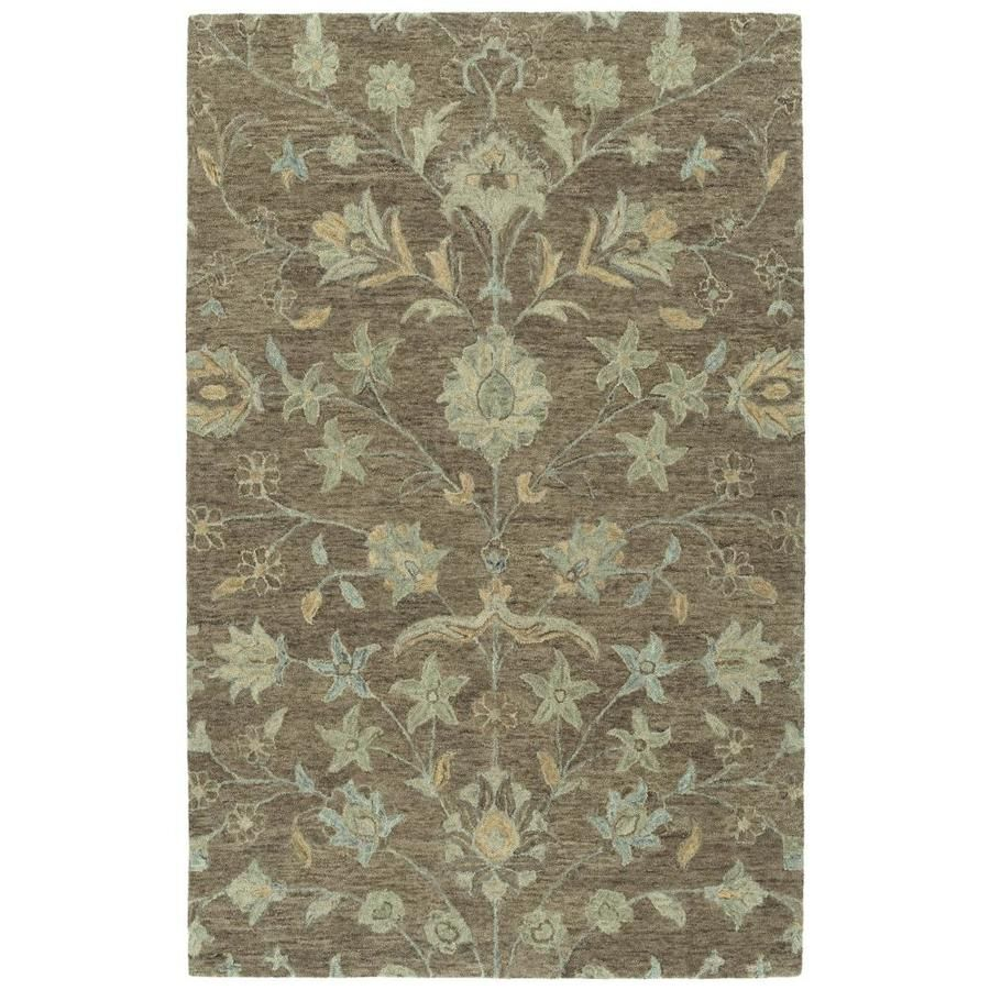 Kaleen Chancellor Light Brown Rectangular Indoor Handcrafted Mid Century Modern Area Rug Common 10 X 14 Actual 10 Ft In 2020 Modern Area Rugs Area Rugs Throw Rugs