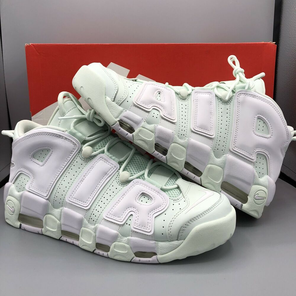21135ef8473c9 Nike Air More Uptempo Barely Green Easter Pastel Pippen Wmns Size 12 ...