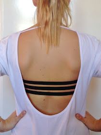 20791331b6b03 DIY 3 Strap Bra for Backless Tops and Dresses. Genius!