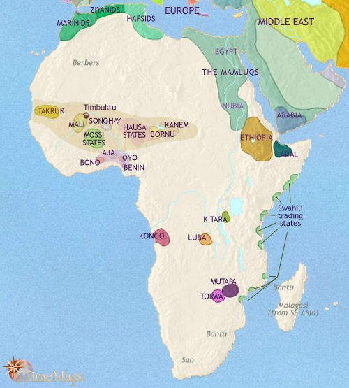 Map Of Africa To Scale.History Map Of Africa 1215ad 1453ad What Is Happening At This