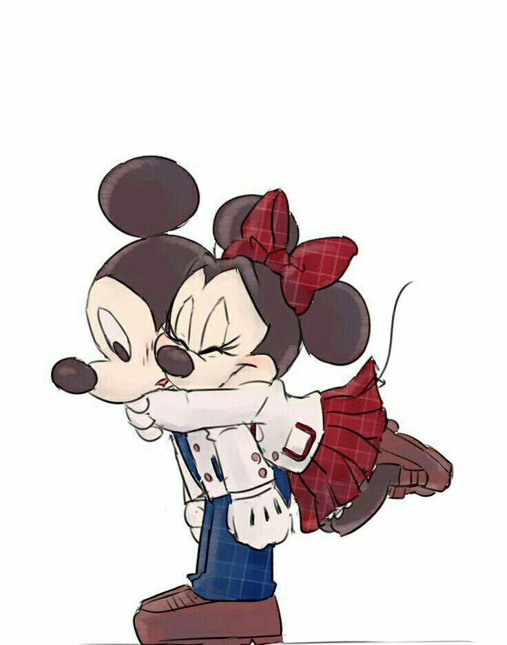 Los Dos Juntos Mickey Y Minni En 2019 Mickey Mouse Wallpaper
