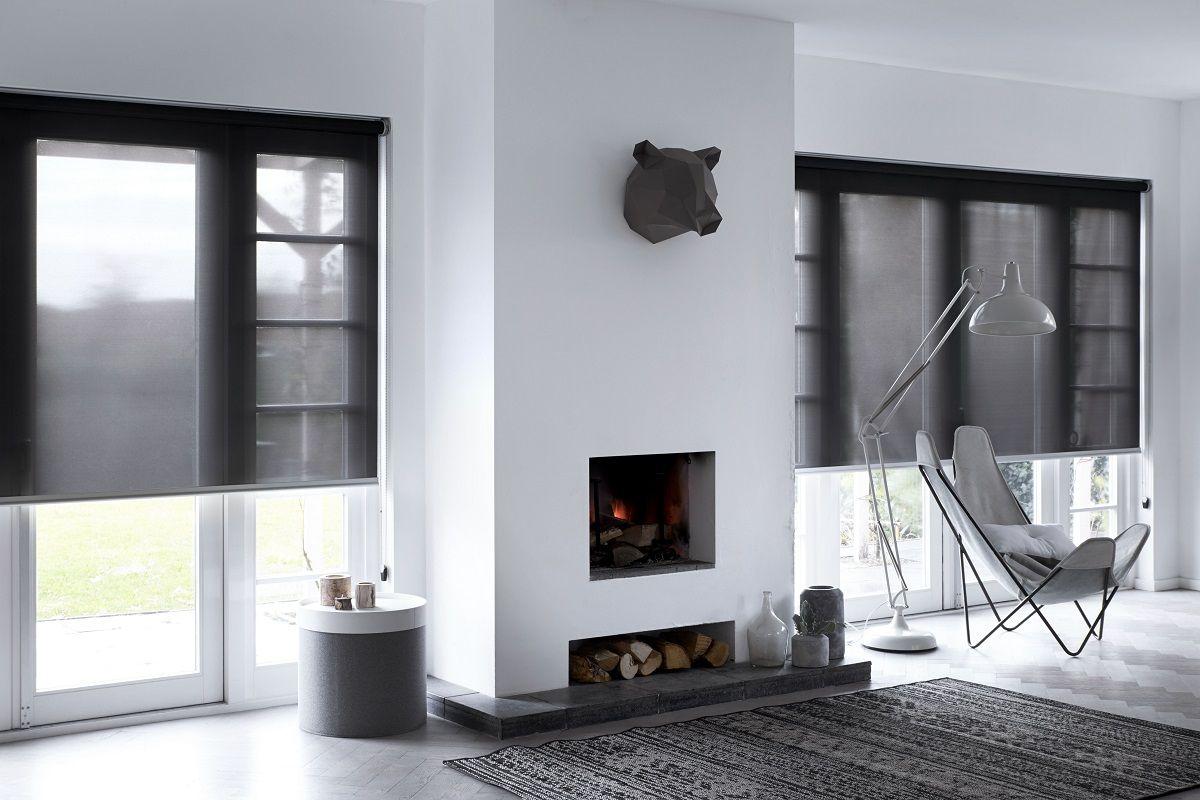 Lichtdoorlatend screen rolgordijn van bece® extra geschikt voor