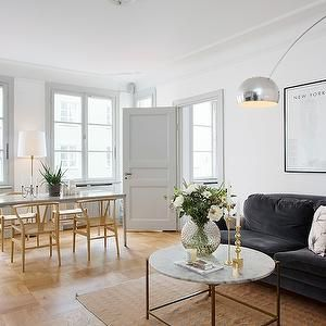 Interior Design Inspiration Photos By Per Jansson White Walls Living Room Grey Walls White Trim Living Room White