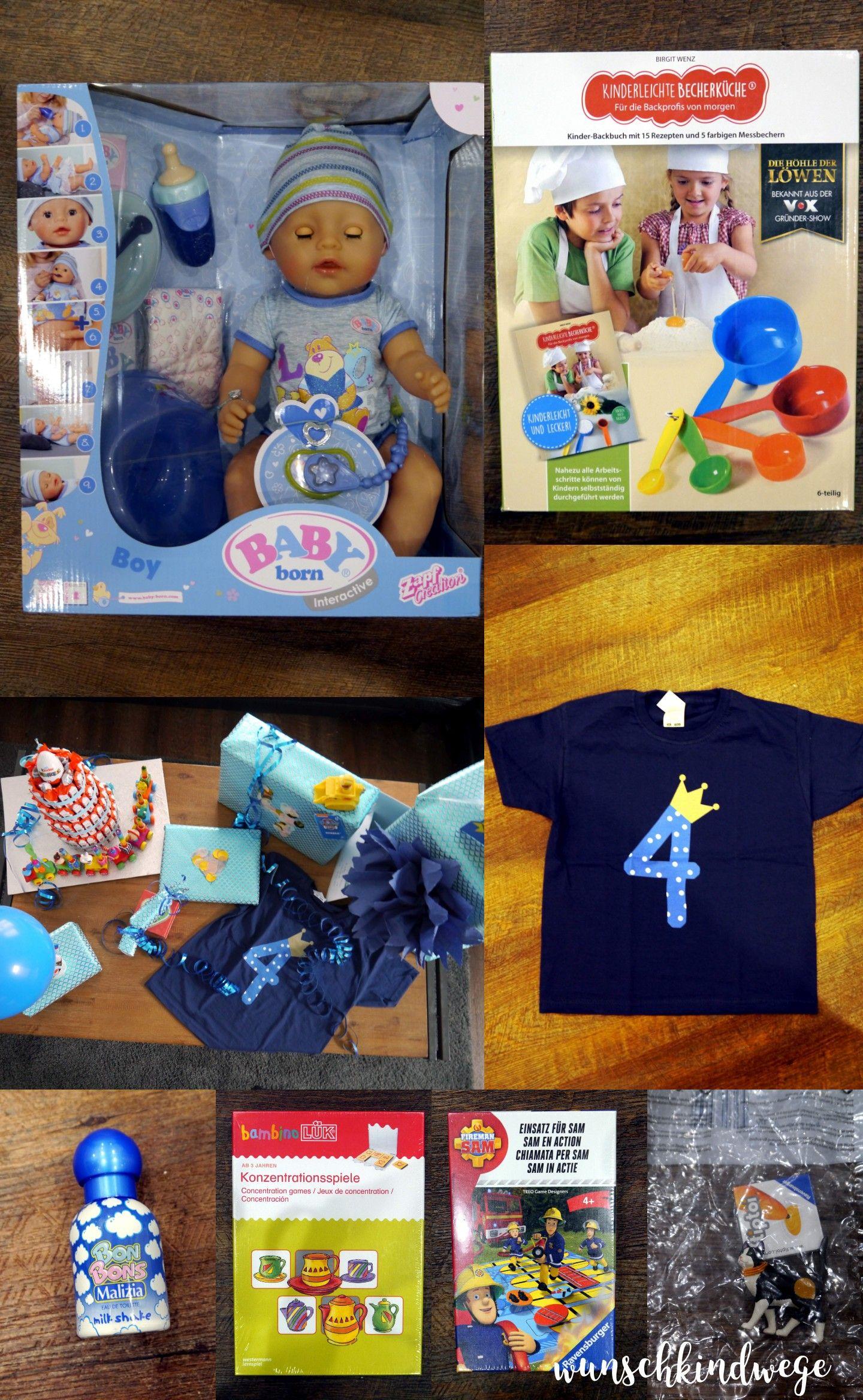 Geschenkideen Zum 4 Geburtstag Vierten Geburtstag 4