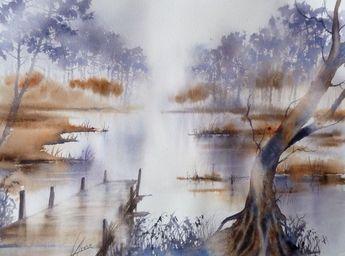 Galeries Virtuelles Aquarelles Et Acryliques Anne Larose En 2020