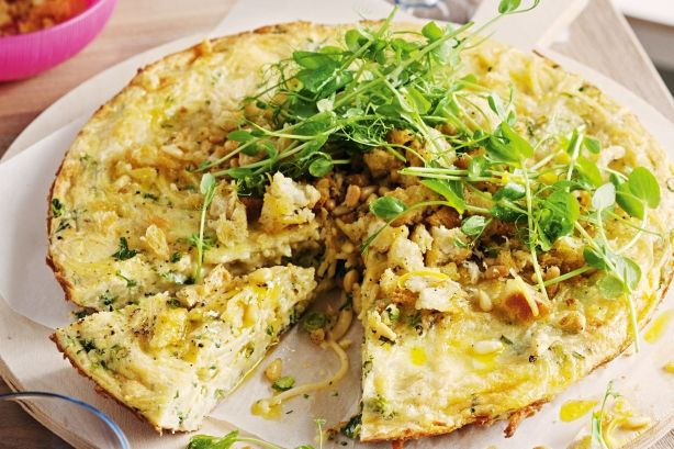 This frittata is perfect for those occasions when you need to 'bring a plate'.
