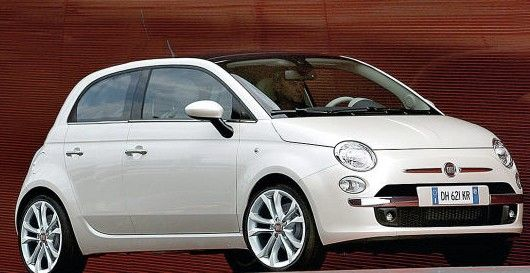 4 Door Fiat 500 I Love Compact Cars Susie Kue